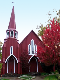 The Big Red Church Sonora
